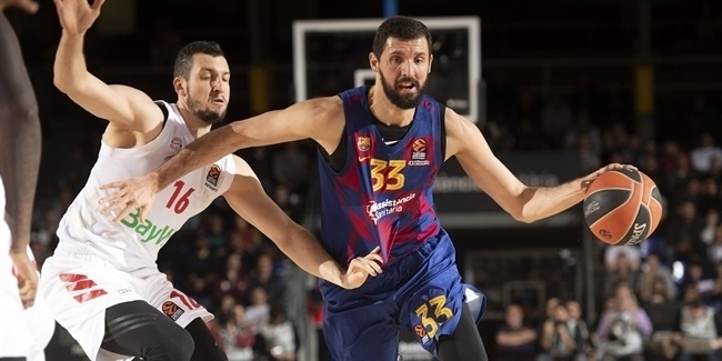 Barcelona extends superstar Mirotic two more years