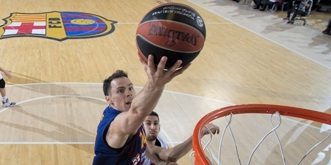 Kuric return gave Barcelona three-point boost