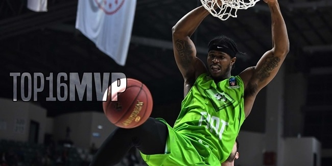 7DAYS EuroCup Top 16 MVP: Devin Williams, Tofas Bursa