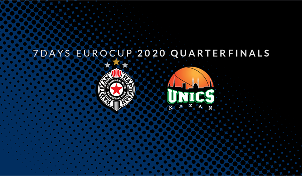 Series Breakdown, Quarterfinals: Partizan NIS Belgrade vs. UNICS Kazan