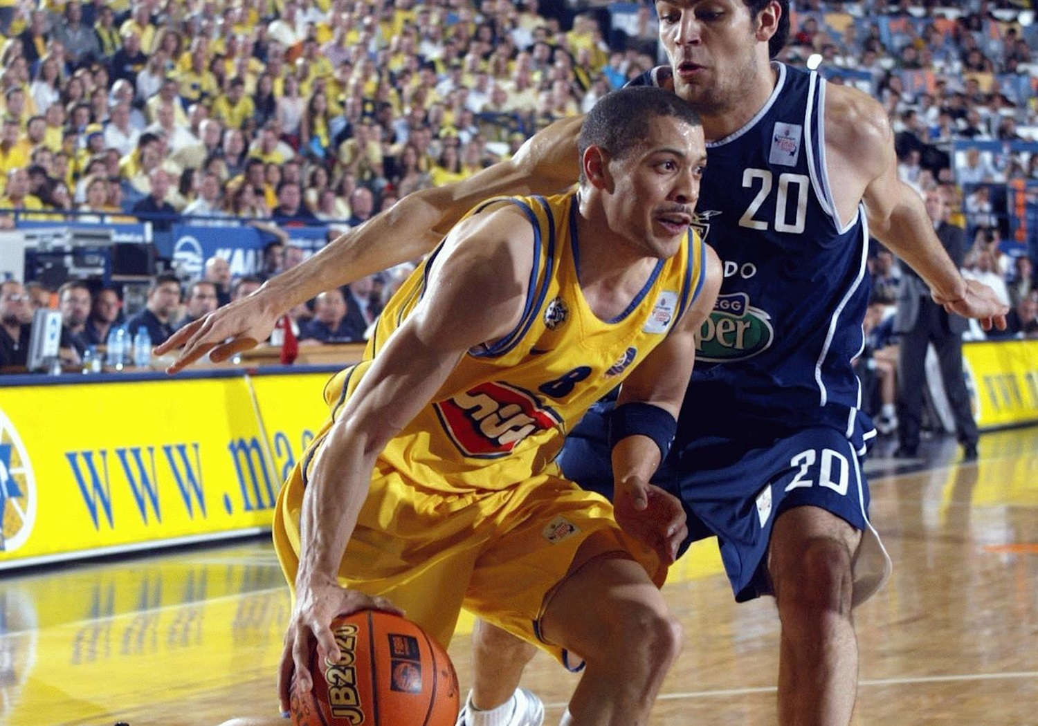 Anthony Parker - Maccabi Elite - Final Four Maccabi 2004 - EB03
