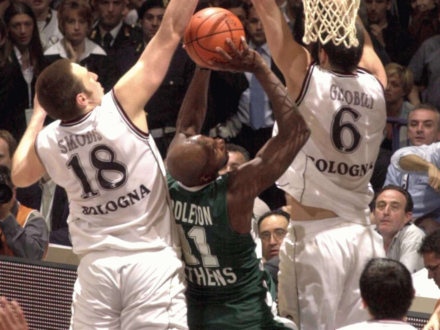 Darryl Middleton - Panathinaikos - Final Four Bologna 2002 - EB01