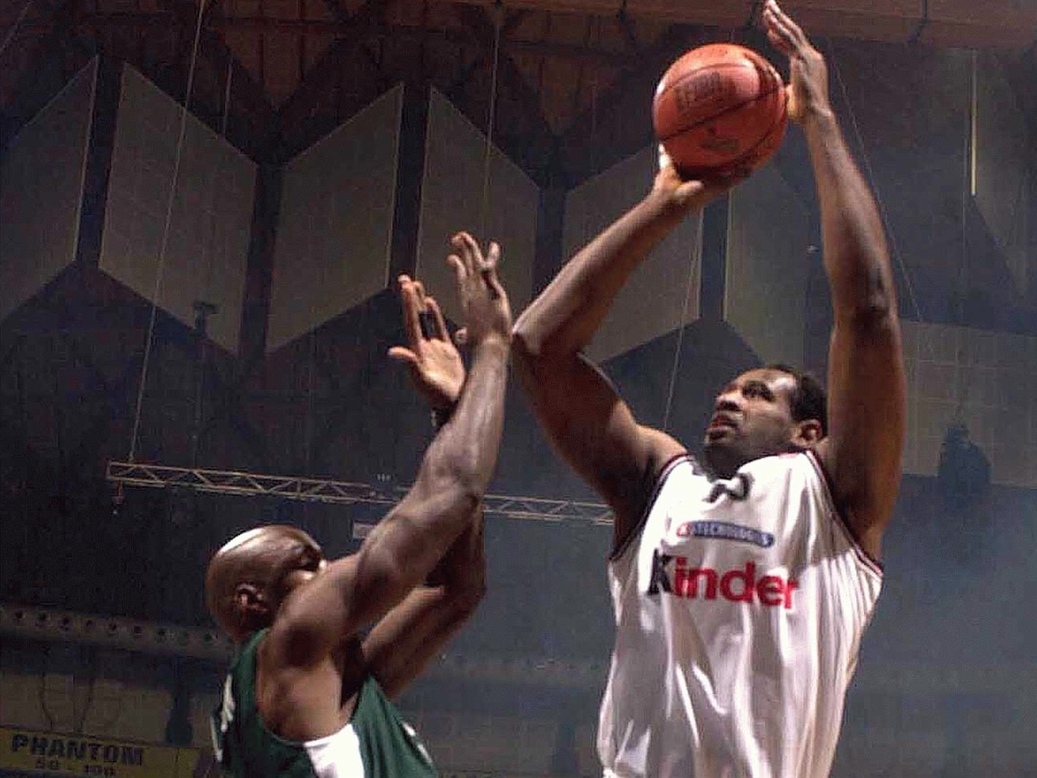 Rashard Griffith - Kinder Bologna - Final Four Bologna 2002 - EC01