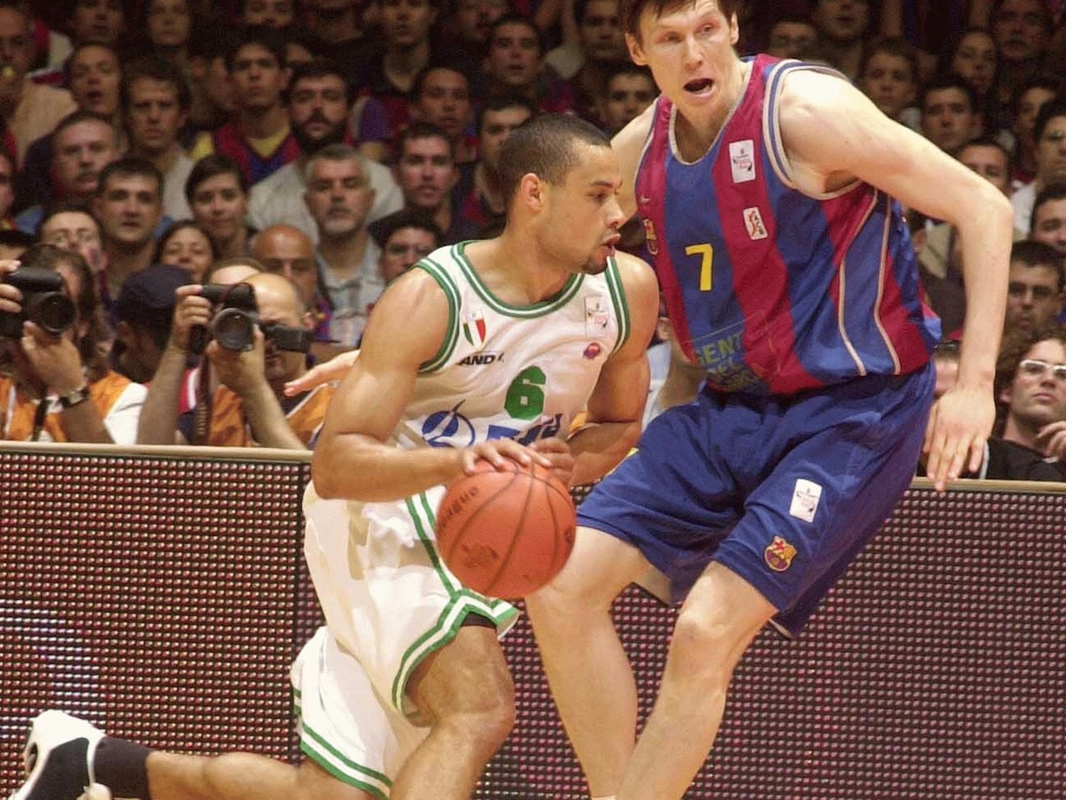 Trajan Langdon - Benetton Basket - Final Four Barcelona 2003 - EB02