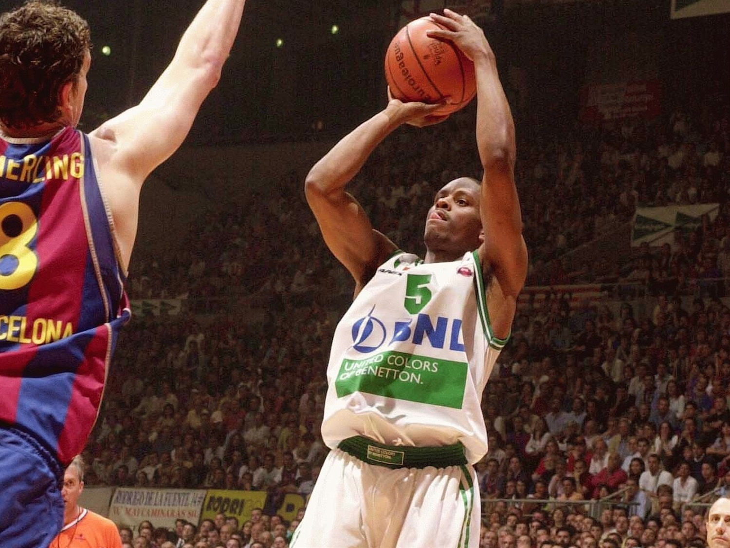 Tyus Edney - Benetton Basket - Final Four Barcelona 2003 - EB02