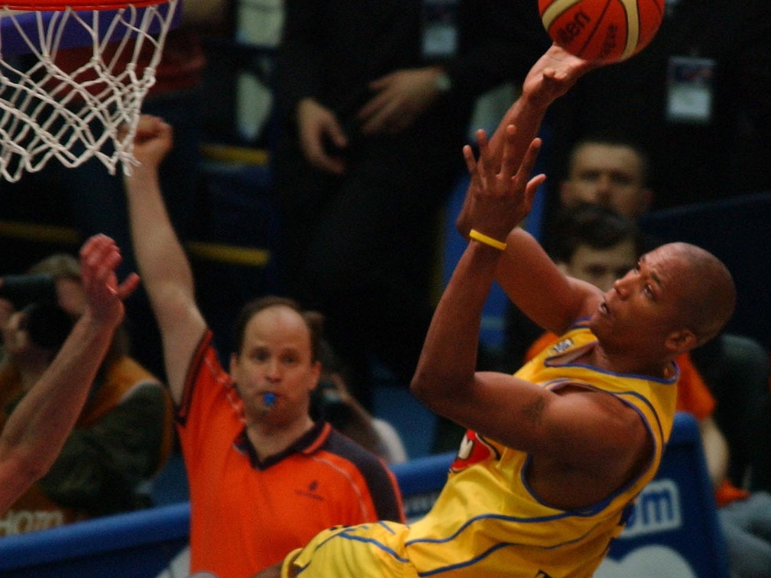 Maceo Baston - Maccabi Electra - Final Four Moscow 2005 - EB04