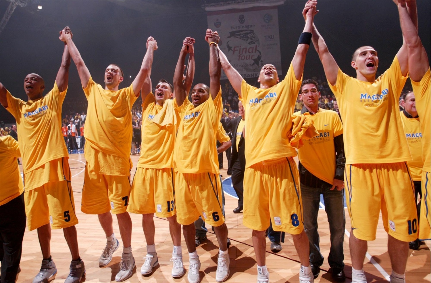 Maccabi Electra champ Euroleague 2004-05 - Final Four Moscow 2005 - EB04