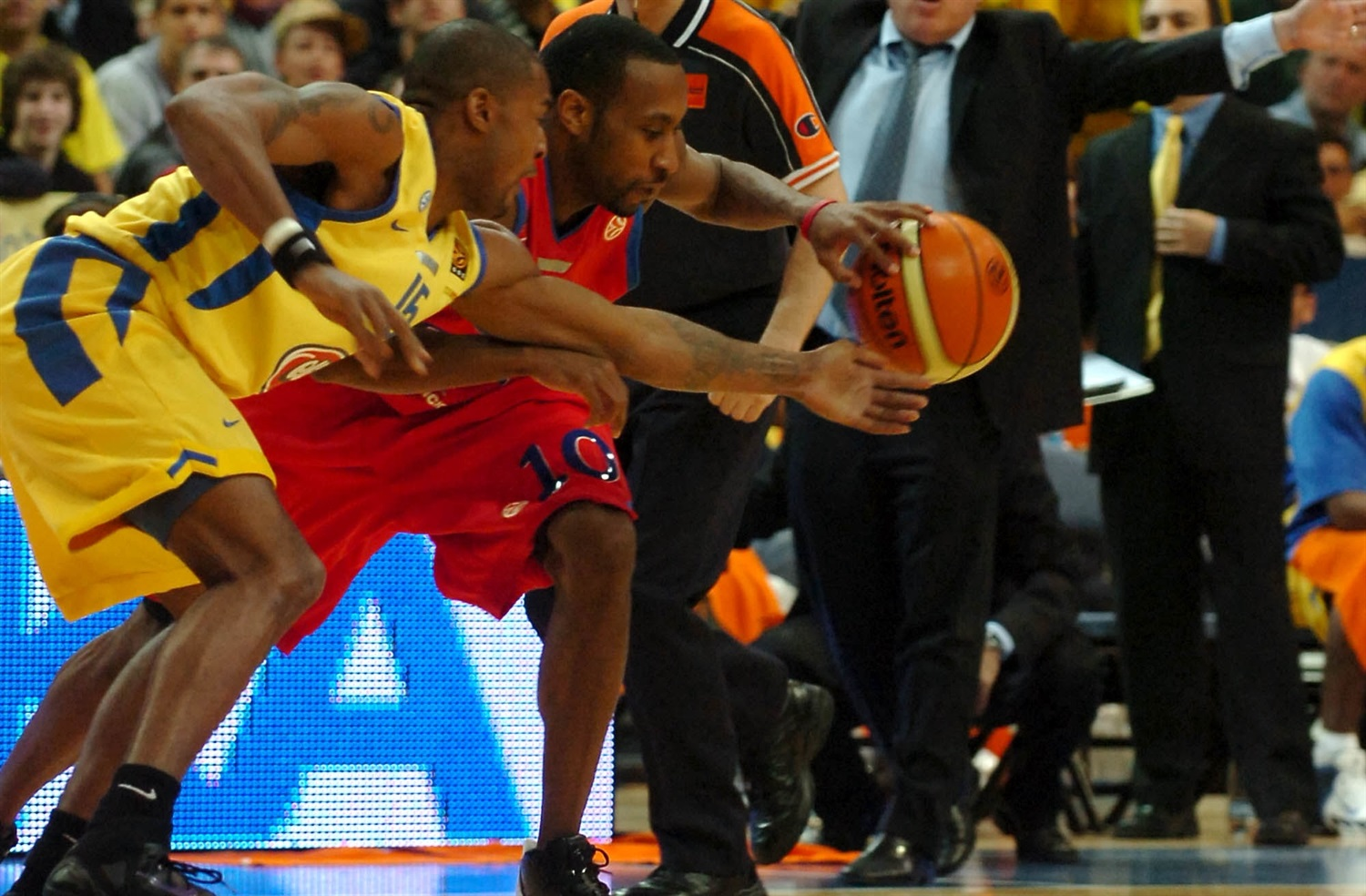 JR Holden - CSKA Moscow - Final Four Prague 2006 - EB19