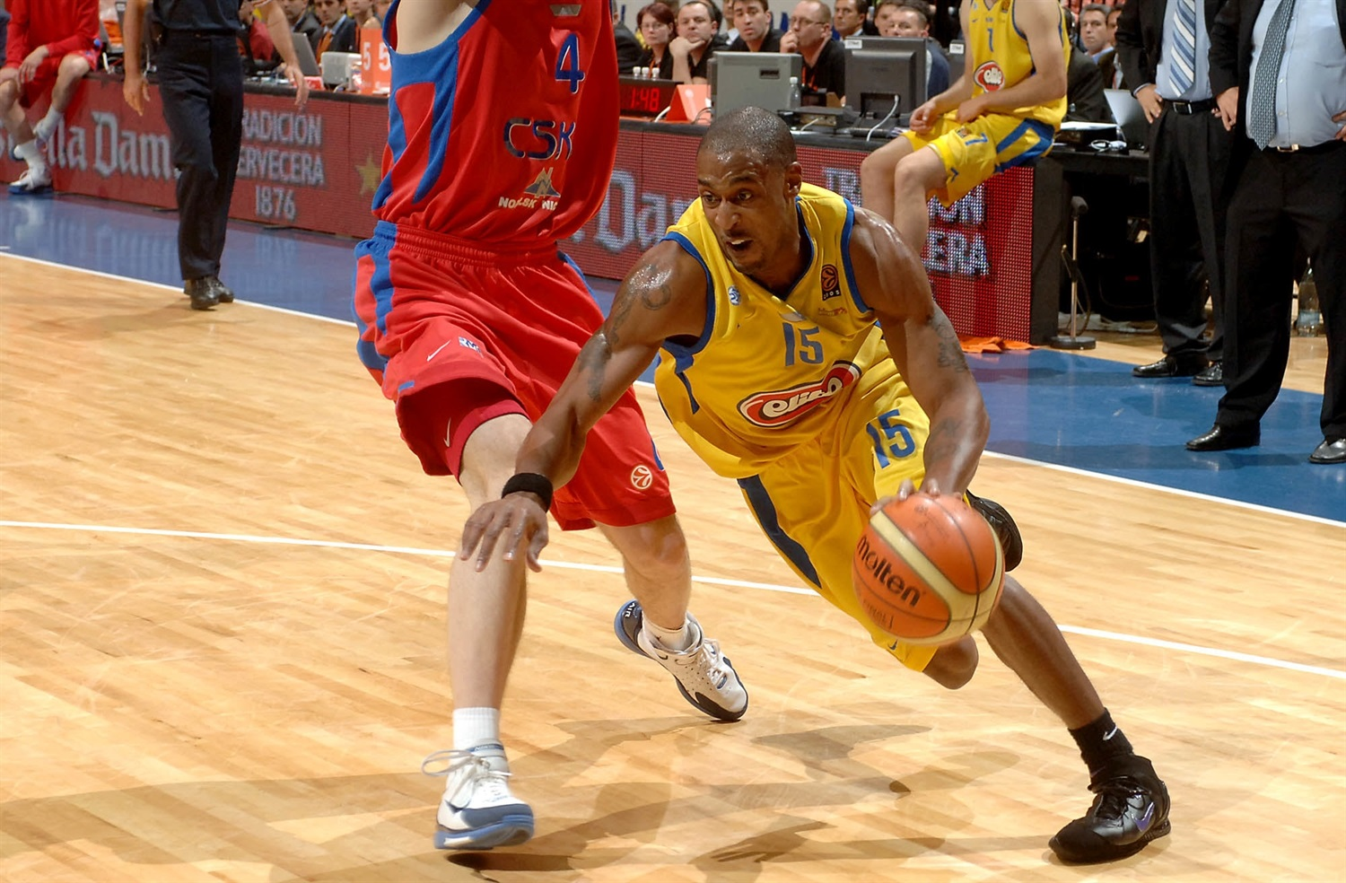 Willie Solomon - Maccabi Elite - Final Four Prague 2006 - EB19
