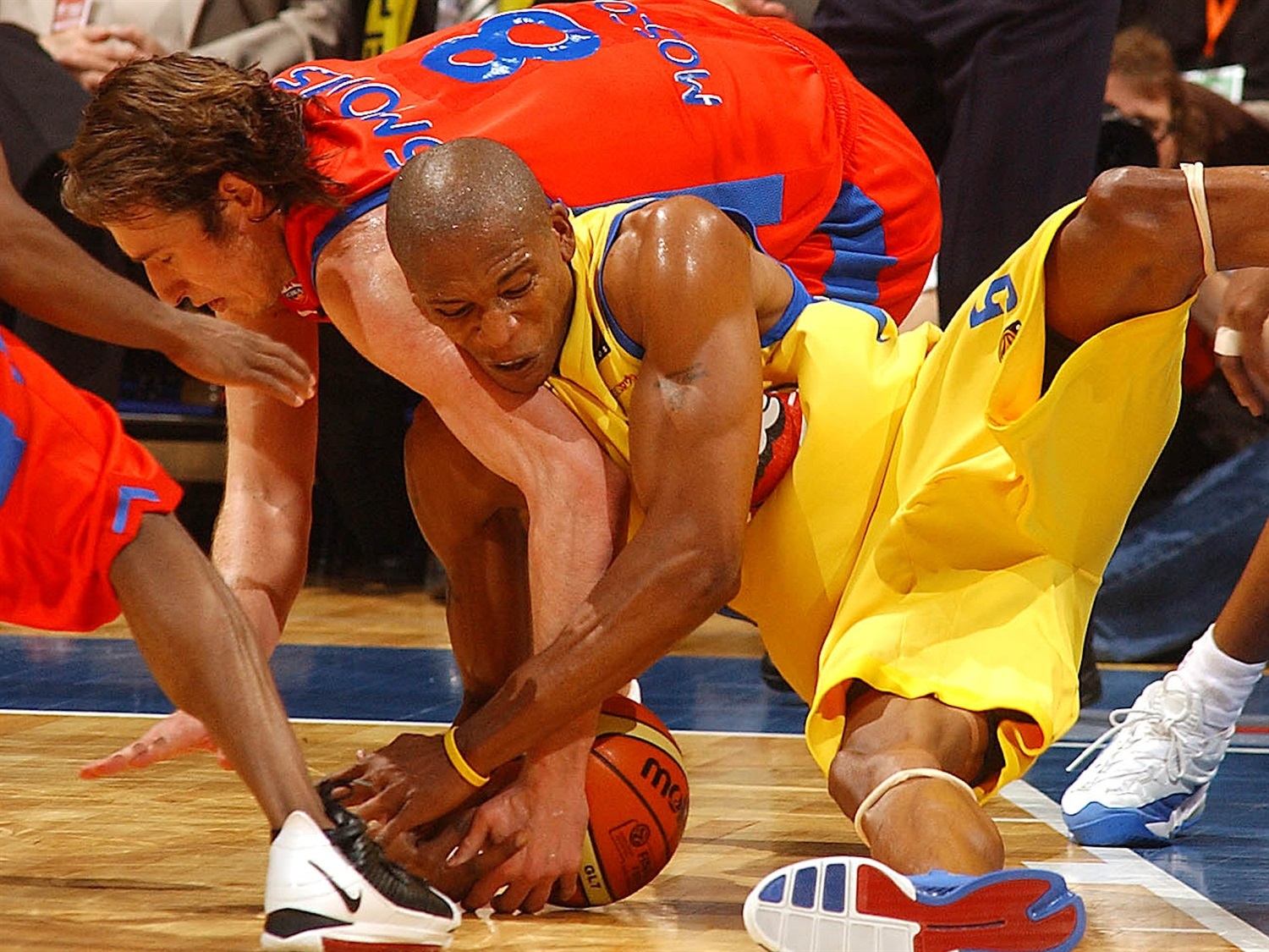 Maceo Baston - Maccabi Elite - Final Four Prague 2006 - EB19