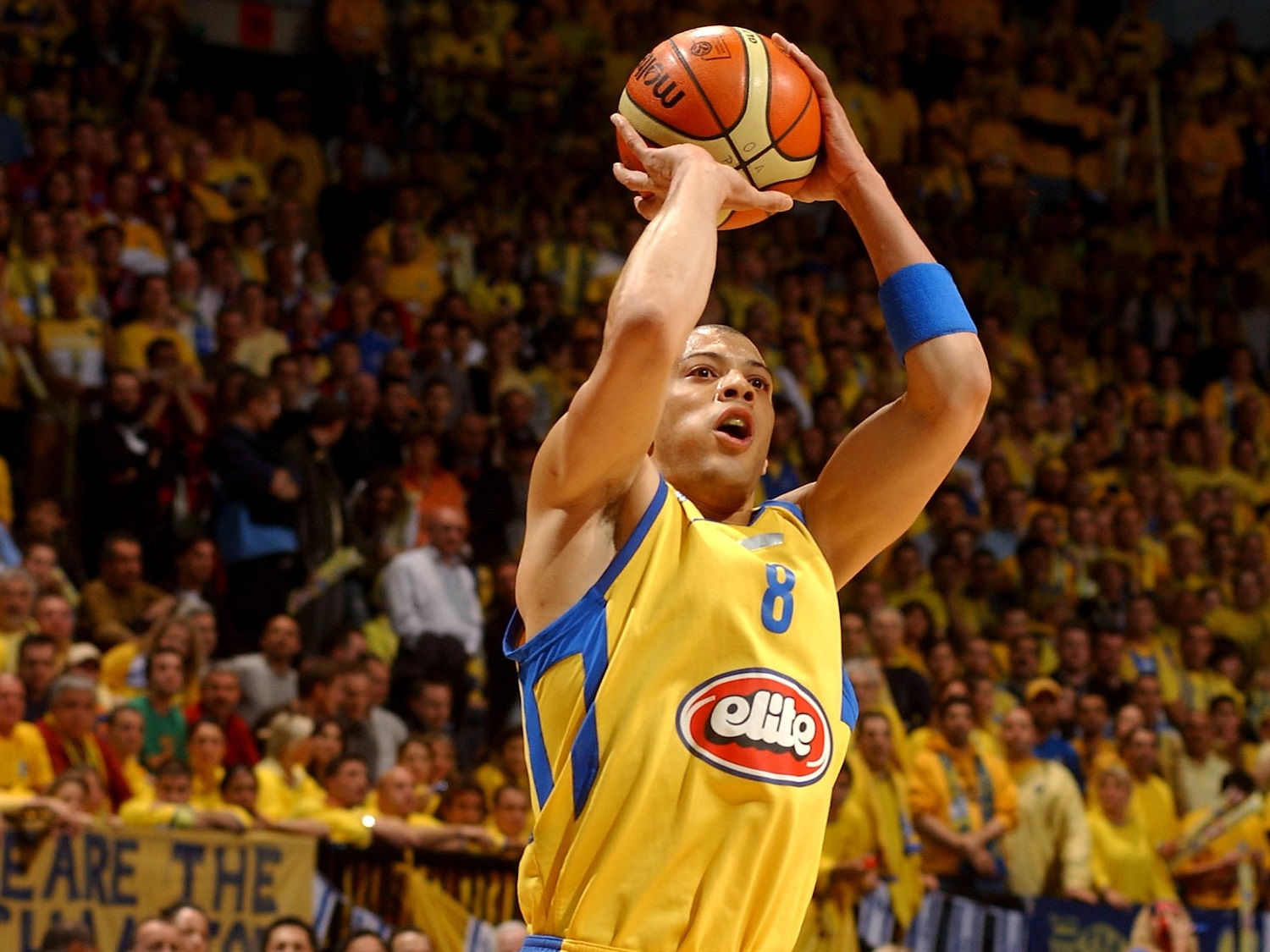 Anthony Parker - Maccabi Elite - Final Four Prague 2006 - EB19