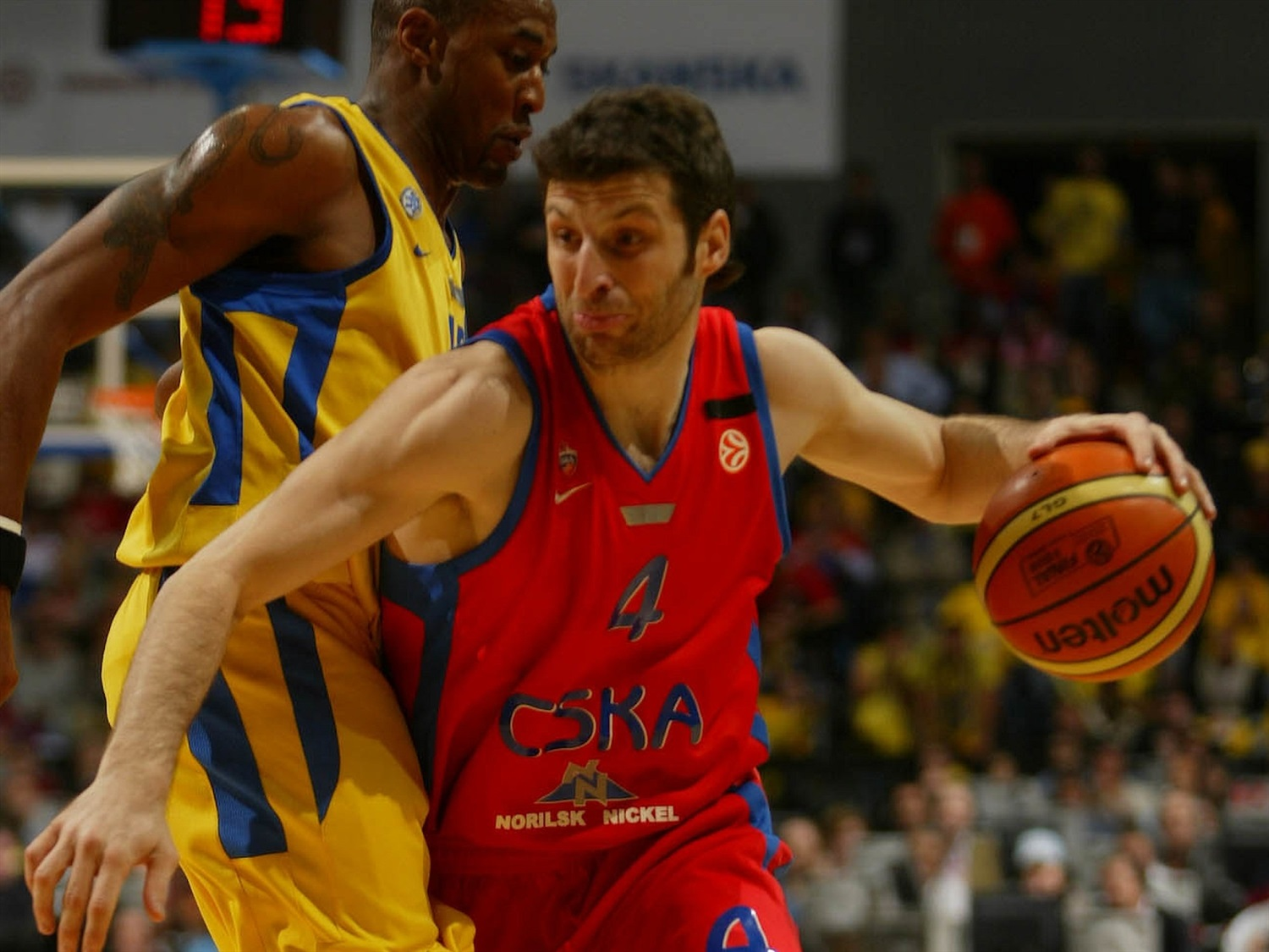 Theo Papaloukas - CSKA Moscow - Final Four Prague 2006 - EB19