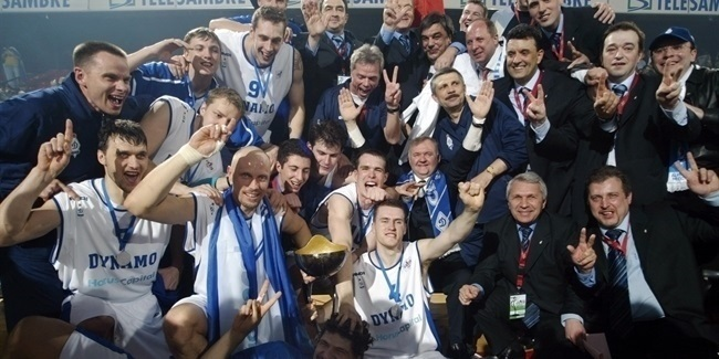 On This Day, 2006: Dynamo becomes EuroCup champion