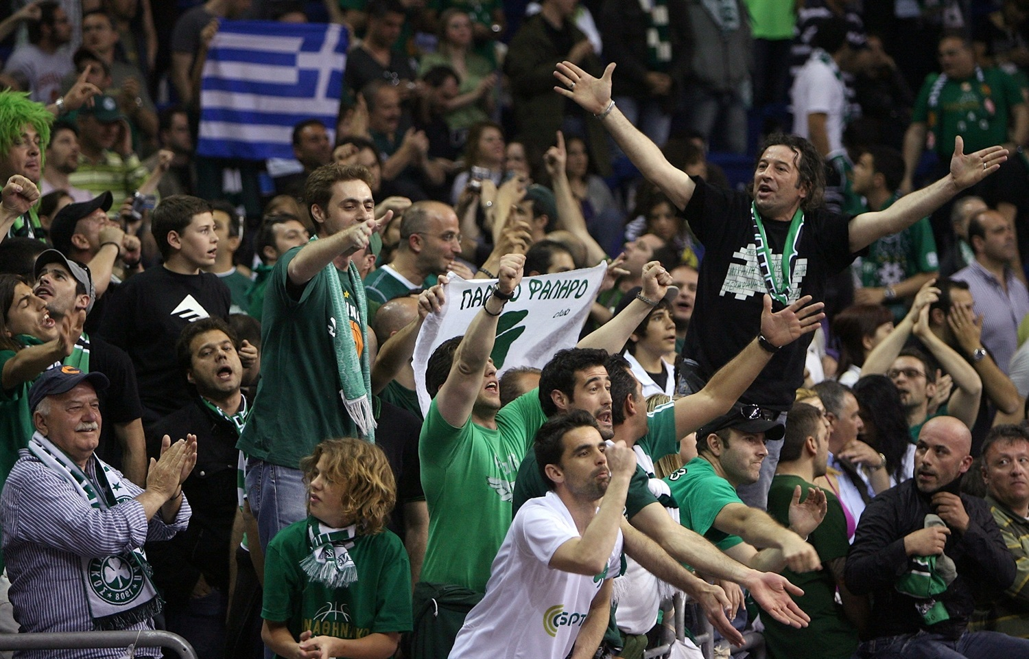 Fans - Panathinaikos Athens - Final Four Berlin 2009 - EB08