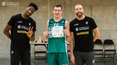 Zalgiris helps One Team participants bravely face challenges
