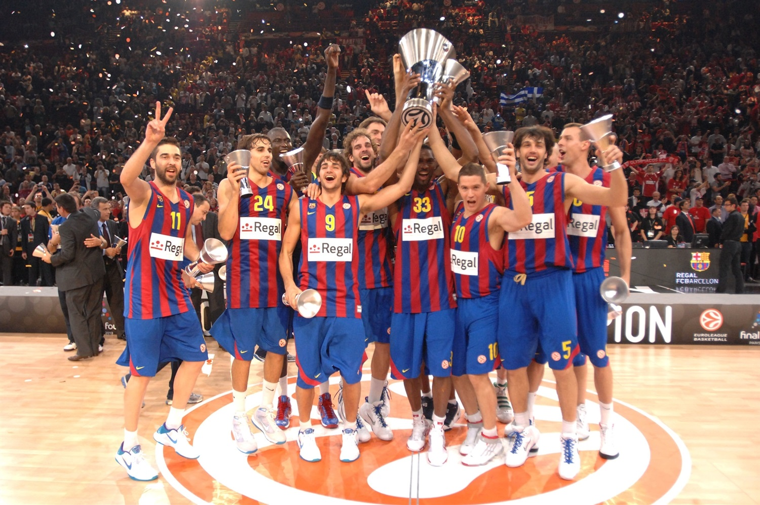 Regal FC Barcelona Champ Euroleague 2010 - Final Four Paris 2010 - EB10