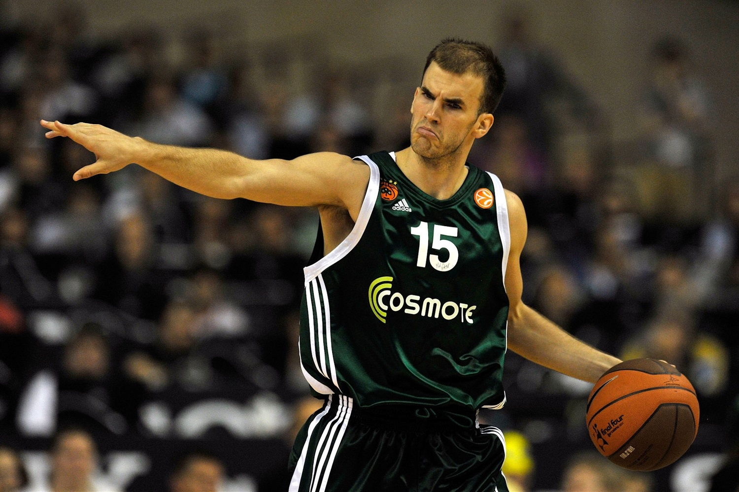 Nick Calathes - Panathinaikos Athens - Final Four Barcelona 2011 - EB10