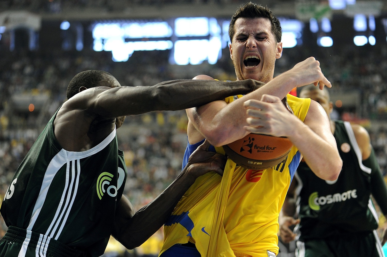 Guy Pnini - Maccabi Electra Tel Aviv - Final Four Barcelona 2011 - EB10