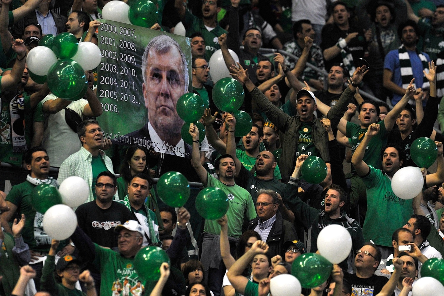 Fans - Panathinaikos Athens - Final Four Barcelona 2011 - EB10