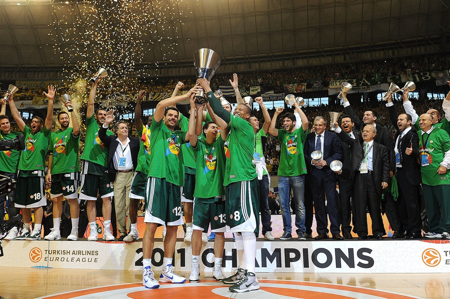 Panathinaikos Champ Final Four Barcelona 2011 - EB10