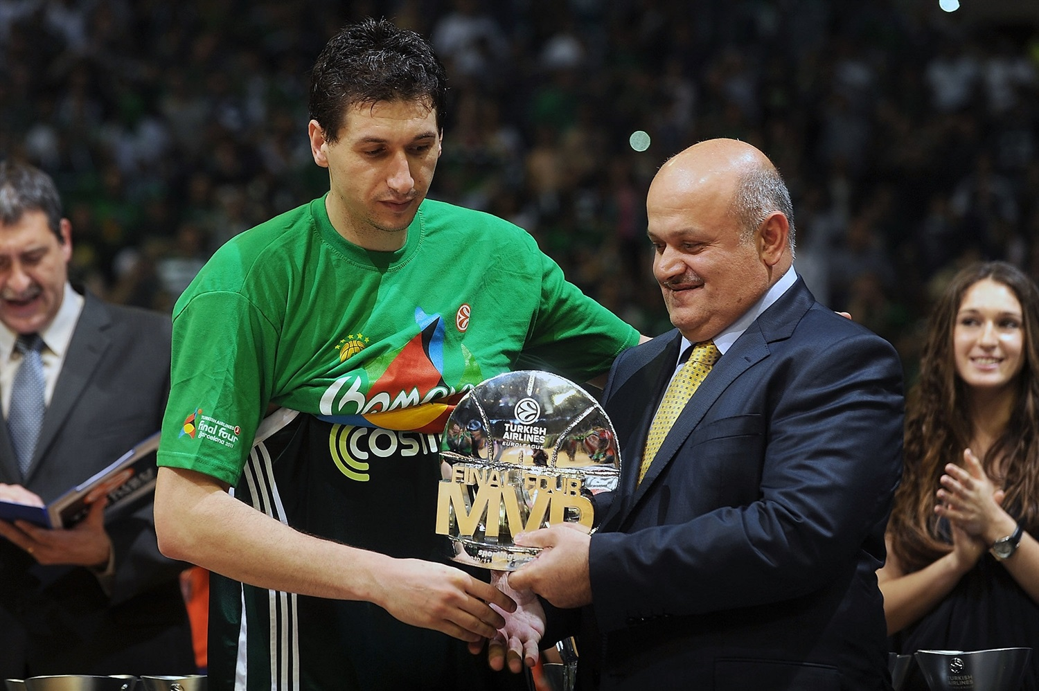 Dimitris Diamantidis MVP - Panathinaikos Champ Final Four Barcelona 2011 - EB10