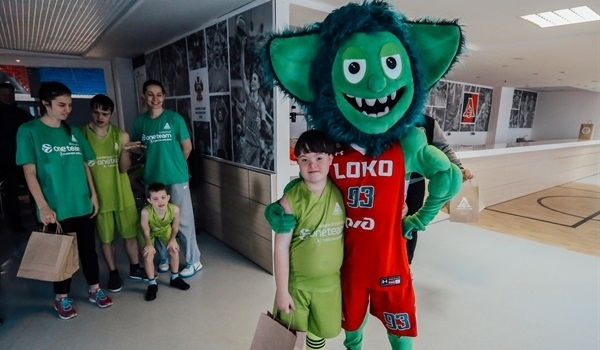 Lokomotiv support Down Syndrome children with One Team