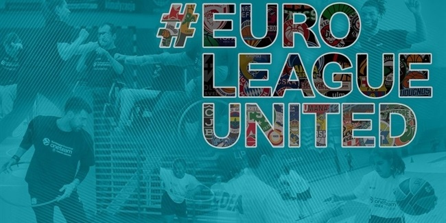 One Team together in #EUROLEAGUEUNITED campaign