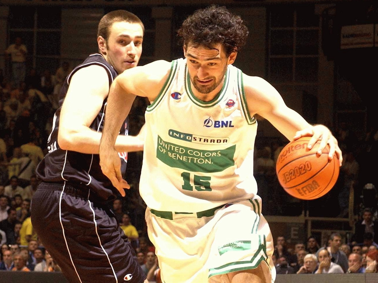 Jorge Garbajosa - Benetton Basket - Final Four Bologna 2002 - EB01