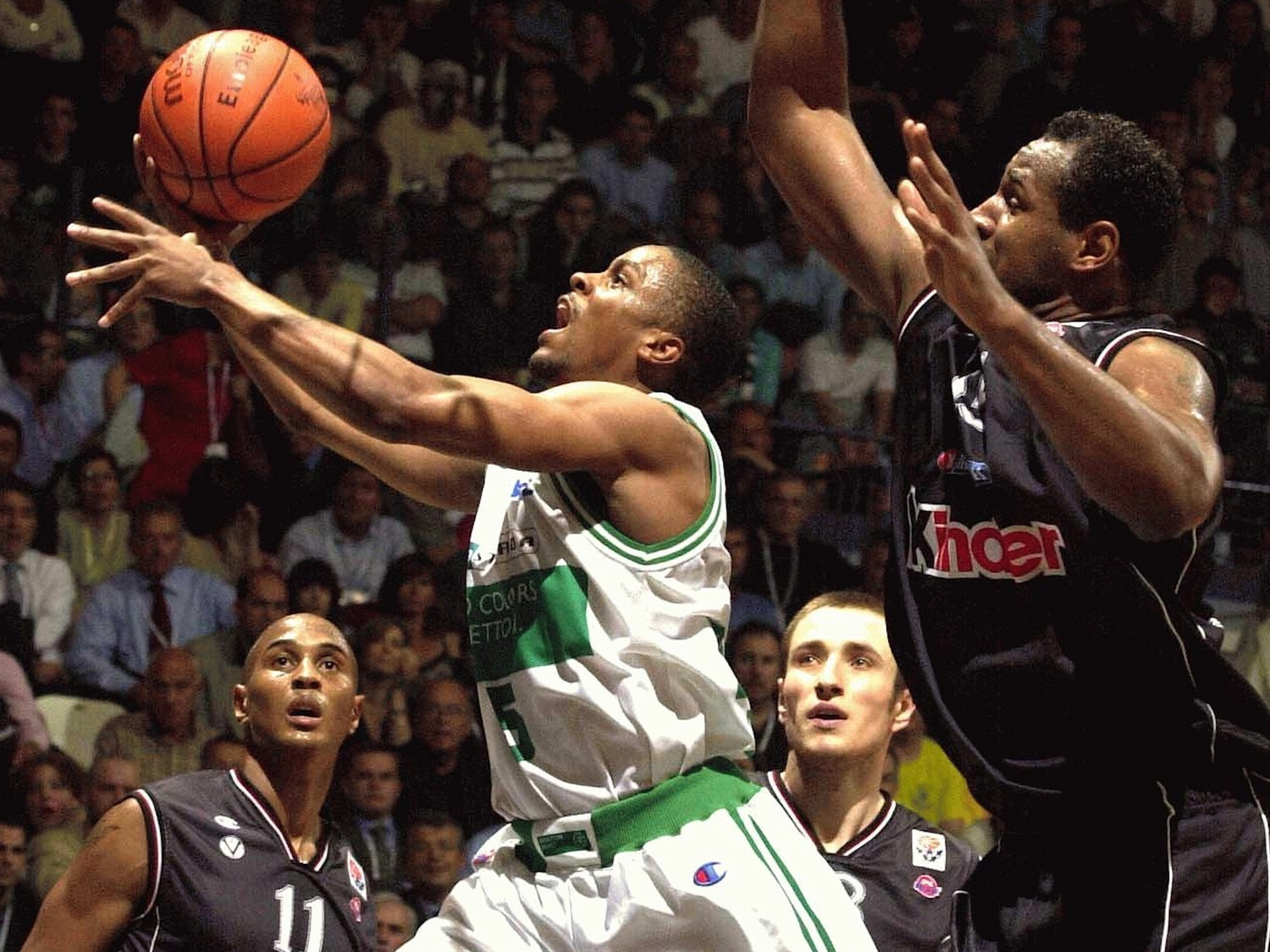 Tyus Edney - Benetton Basket - Final Four Bologna 2002 - EB01