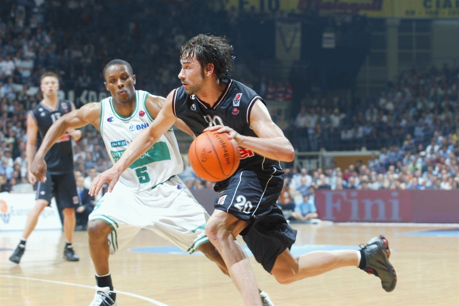Marko Jaric - Kinder Virtus Bologna - Final Four Bologna 2002 - EB01