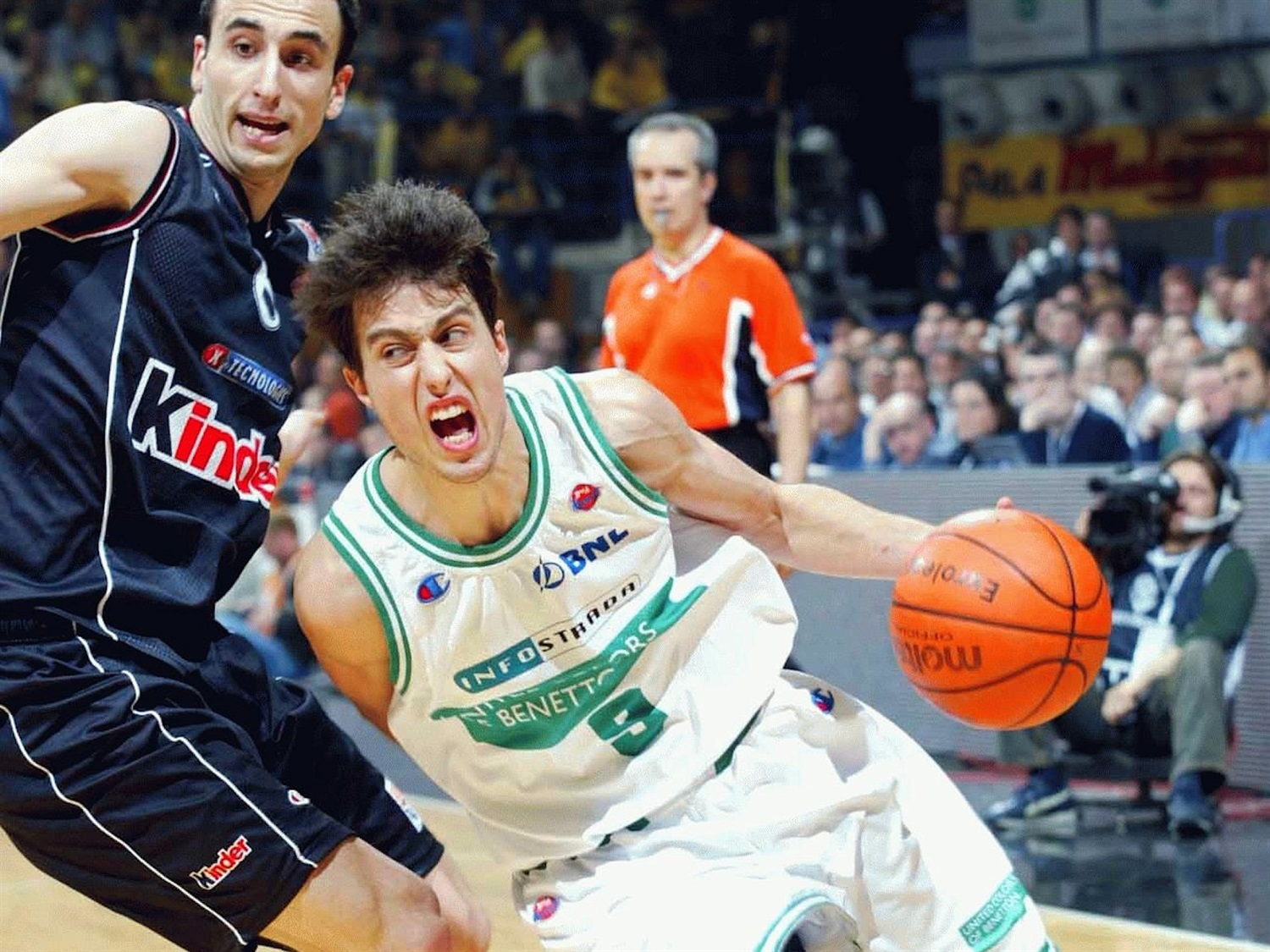 Massimo Bulleri - Benetton Basket - Final Four Bologna 2002 - EB01