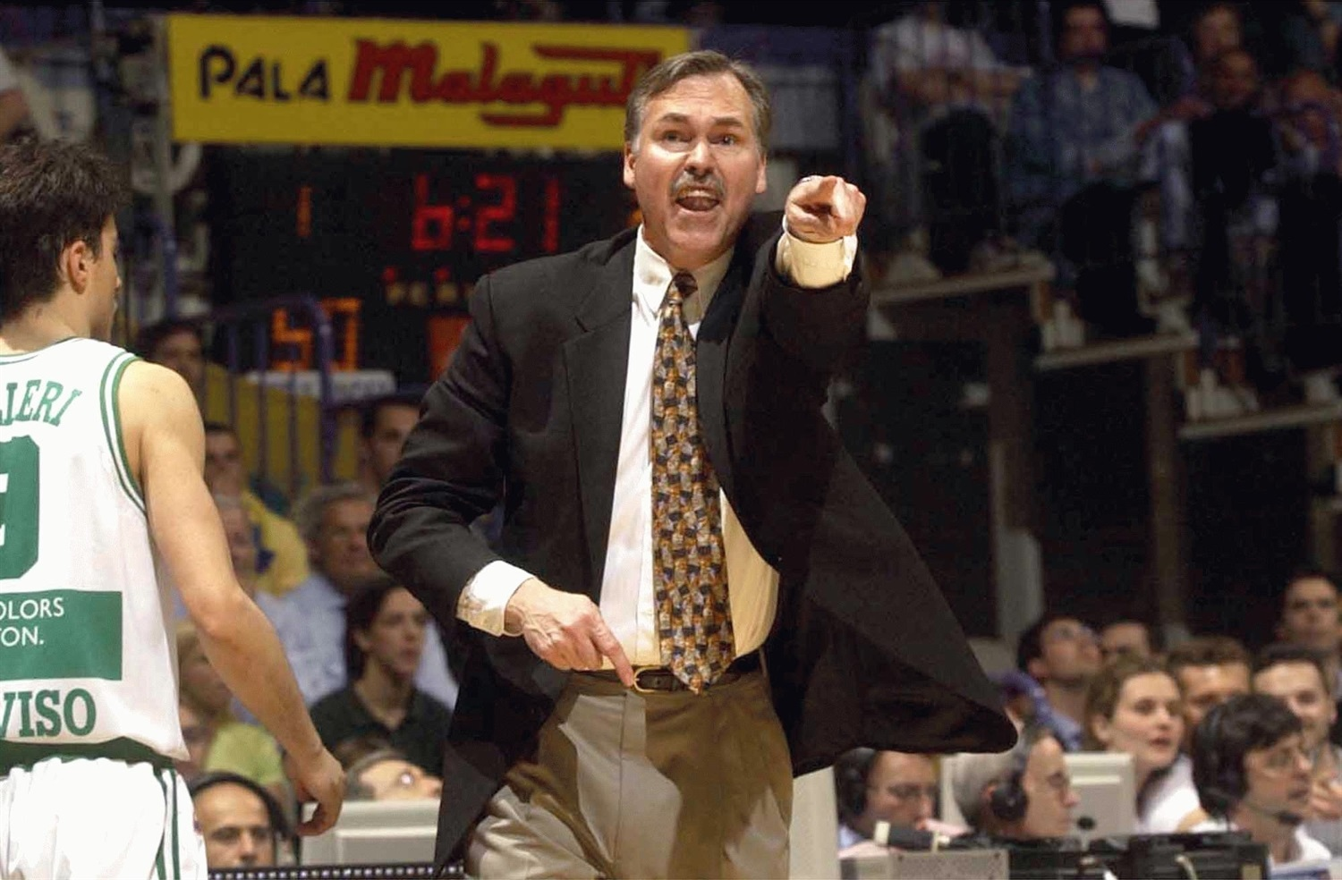 Mike DAntoni - Benetton Basket - Final Four Bologna 2002 - EB01