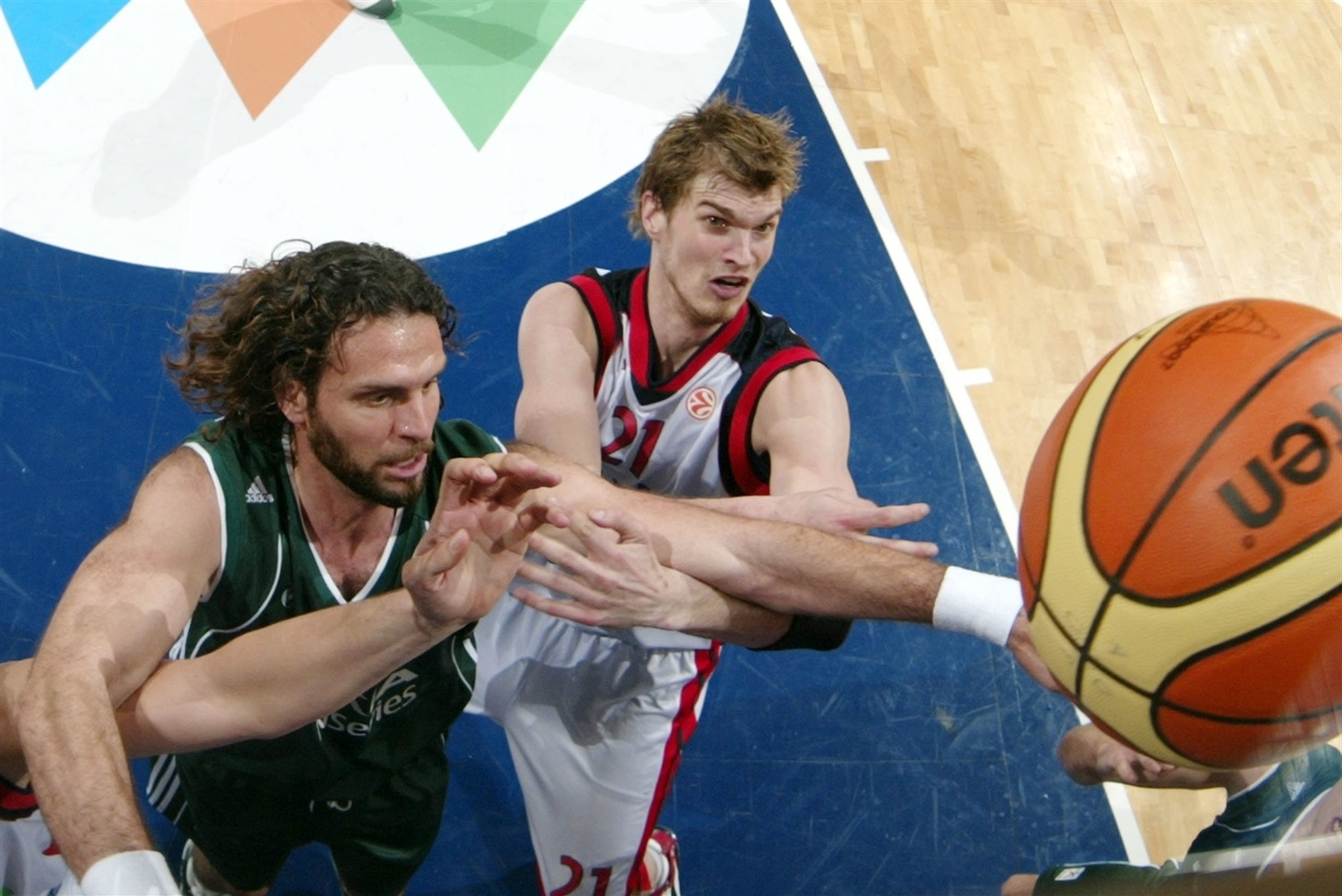 Fragiskos Alvertis - Panathinaikos Athens - Final Four Athens 2007 - EB06