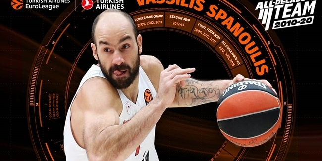 2010-20 All-Decade Team: Vassilis Spanoulis