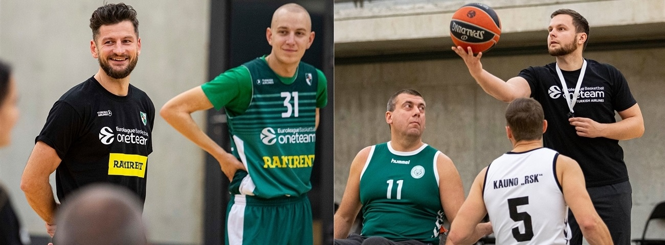 Retired player, university lecturer lift Zalgiris One Team