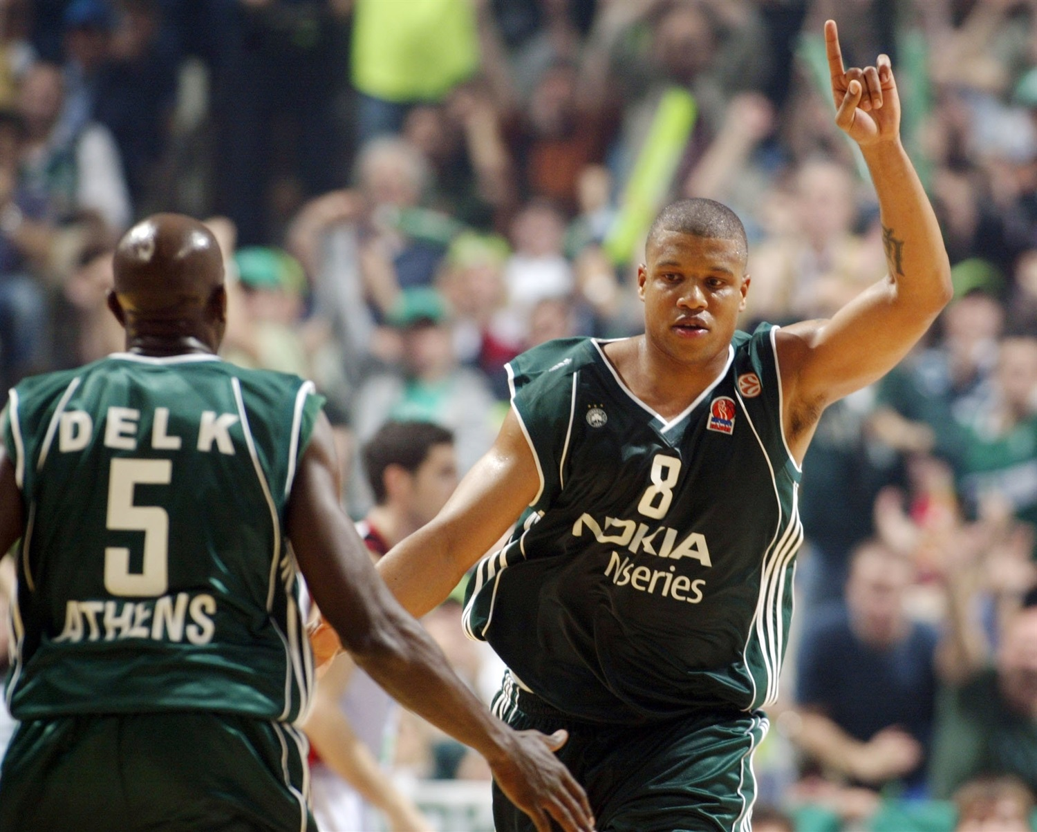 Mike Batiste - Panathinaikos Athens - Final Four Athens 2007 - EB06