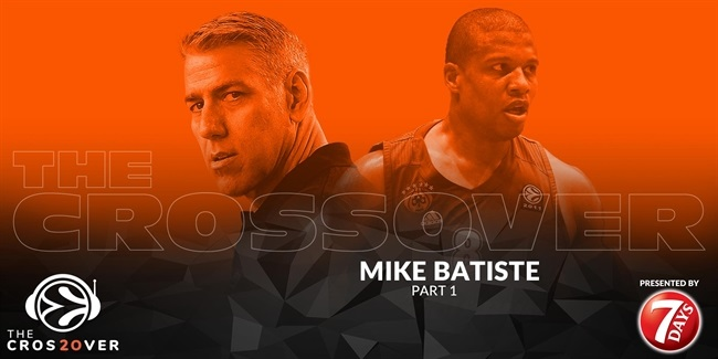Panathinaikos legend Mike Batiste visits The Crossover, Part II