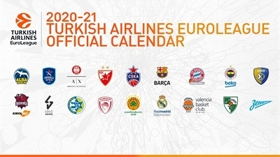 The 2020-21 Turkish Airlines EuroLeague calendar is here!