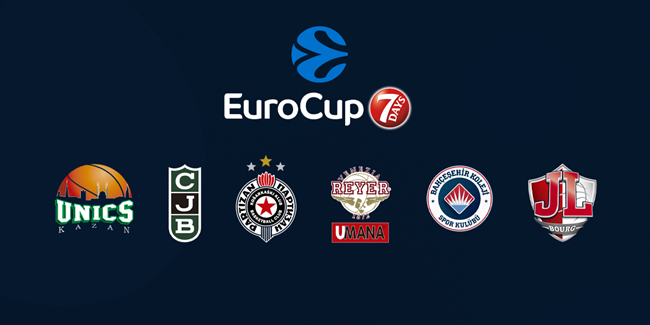 2020-21 7DAYS EuroCup Draw reactions - GROUP A