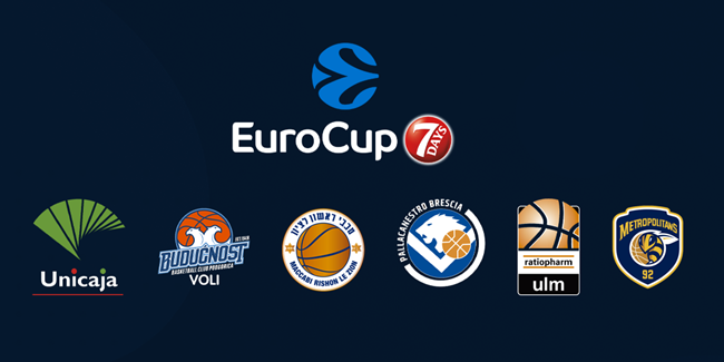 2020-21 7DAYS EuroCup Draw reactions - GROUP B