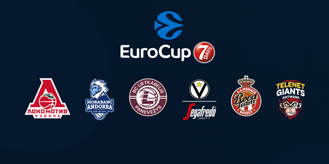 2020-21 7DAYS EuroCup Draw reactions - GROUP C