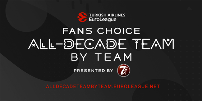 Fans Choice All-Decade Team by Team survey, presented by 7DAYS