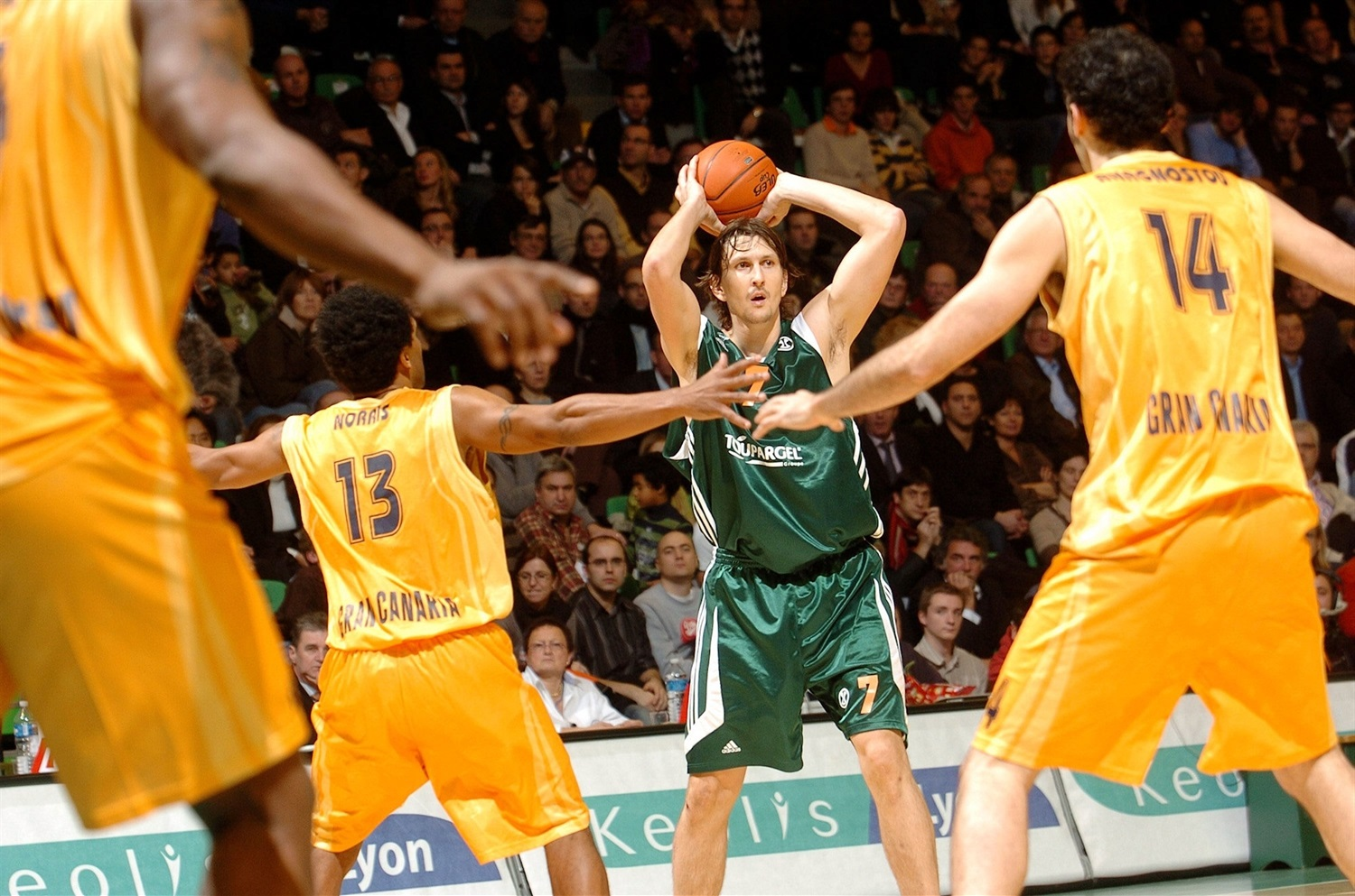 Laurent Foirest - ASVEL Villeurbanne (photo ASVEL) - EC07
