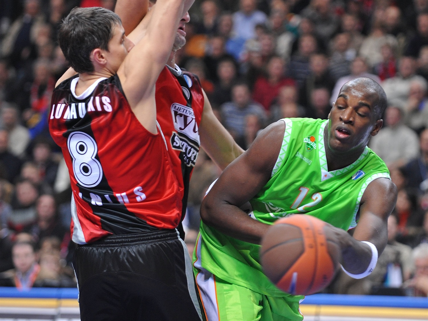 Ali Traore - ASVEL Basket (photo Rytas) - EC08