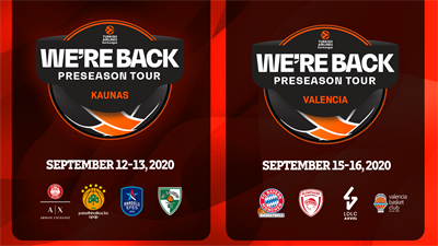 Turkish Airlines EuroLeague WE'RE BACK PRESEASON TOUR