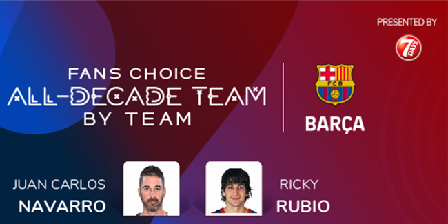Fans Choice All-Decade Team: FC Barcelona