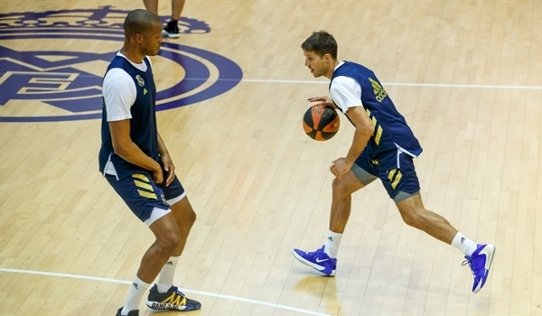 Real tips off training camp with few changes