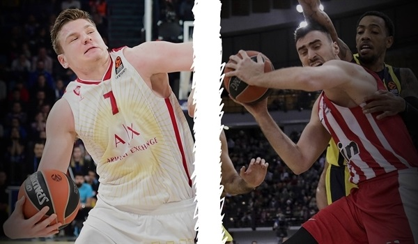 Breaking down the numbers: Arturas Gudaitis and Nikola Milutinov