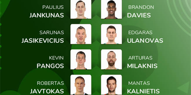 Fans Choice All-Decade Team: Zalgiris Kaunas