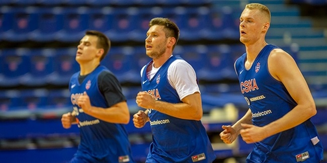 CSKA opens pre-season - with Coach Itoudis in Greece